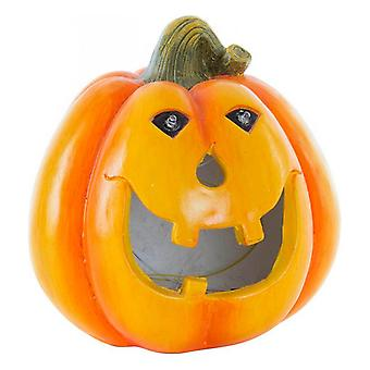 Halloween Decorations DKD Home Decor Fibreglass Pumpkin (21 x 21 x 21 cm)