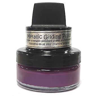 Cosmic Shimmer - Metallic Gilding Polish - Dark Cherry