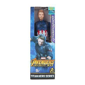 Marvel Avengers Myrkky Hulk Musta Pantteri Ässät-mies Kapteeni Amerikka Thor Wolverine