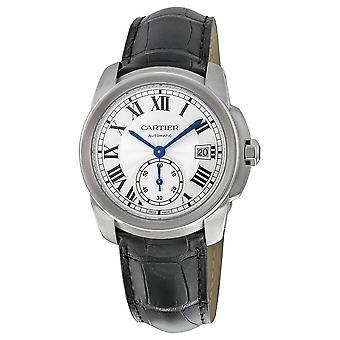 Cartier Calibre de Cartier Silver Dial Men's Watch WSCA0003