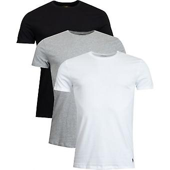 Polo Ralph Lauren 3 Pack Crew Hals T-skjorte
