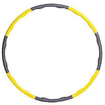Yellow yellow foam detachable hula hoop x2491