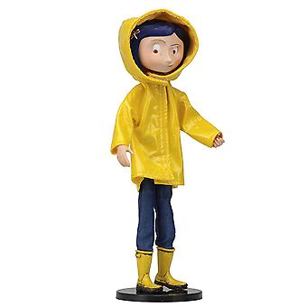 Coraline Raincoat og Støvler (Coraline Movie) Neca 7 Tommers Figur