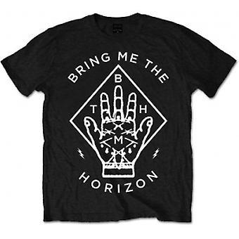 Bring Me The Horizon - Diamanthand Mäns Lilla T-Shirt - Svart
