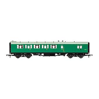 Hornby BR Bulleid 59' käytäväjarru Kolmas S2860S Era 4 -mallijuna