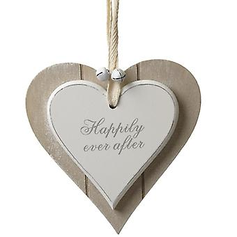 Hanging Wooden Heart Love My Cat by Heaven Sends