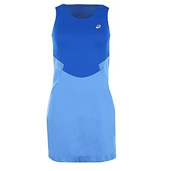 Asics MotionDry Athlete 2 Tone Blue Womens Tennis Dress Shorts 125166 0887
