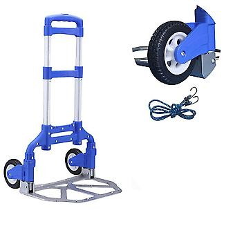 Shopping Dolly And Folding Hand Truck Aluminum Alloy Luggage Trolley Cart