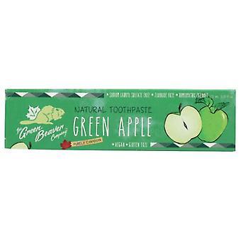 أخضر بيفر معجون الأسنان الطبيعي، التفاح الأخضر 2.5 أوقية فلوريدا
