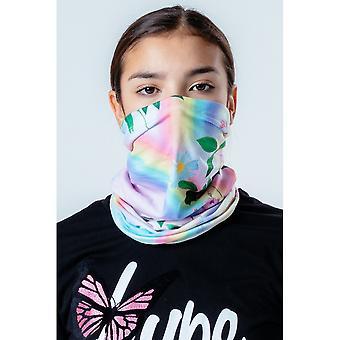 Hype Unisex Dorosły Daisy Rainbow Camo Wielofunkcyjne nakrycia głowy