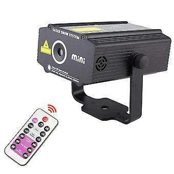 Remote R&g Laser 4patterns Projector