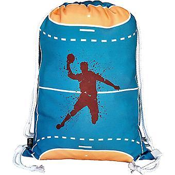 Jungen Mdchen Kinder Handball Turnbeutel - waschmaschinenfest - 40x32cm – geeignet fr