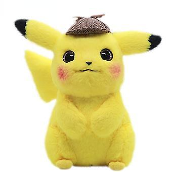 28Cm kawaii pokemon pikachu plush toy dolls cute pokémon movie anime stuffed cartoon animal short dolls girl gift kids toys