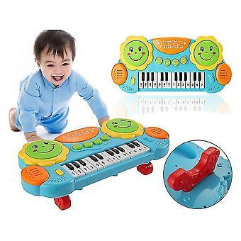 14keys Sunflower-shape Enlightenment Early Childhood Music Pat Drum Keyboard