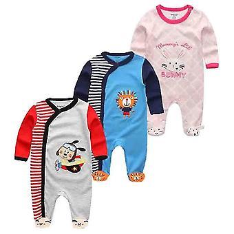 Roupa Jumpsuit Lange Mouw Katoenen Pyjama