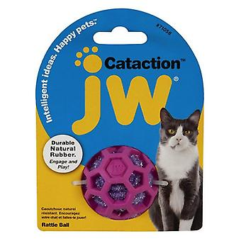 JW Pet Cataction Rattle Ball Interactive Cat Toy  - 1 count