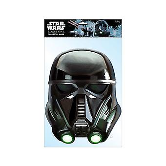 Death Trooper Official Star Wars Rogue One Card Party Fancy Dress Mask