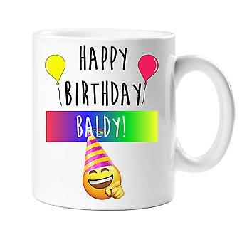 Happy Birthday Baldy Mug