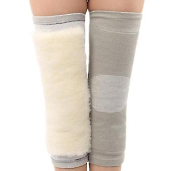 Winter Outdoor Cold Protection Warm And Thickened Wool Kneepad Legged Protection