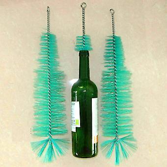 Brosse de nettoyage de bouteille de vin et de bière, nylon, pour la maison, tube de brassage, nettoyant pour bec, outils de nettoyage de cuisine