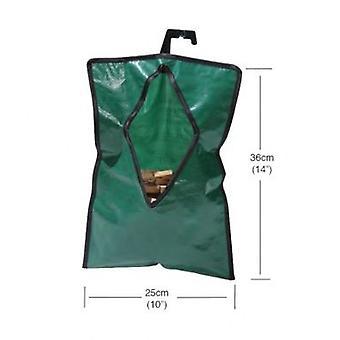 Spălătorie Peg bag impermeabil verde cu umeraș