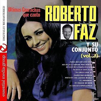ロベルト Faz - ロベルト Faz: Vol. 2 Ultimos ボレロ Que カント [CD] USA 輸入