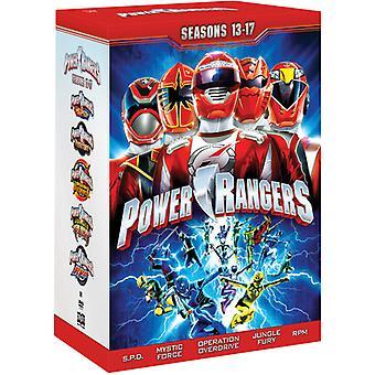 Power Rangers: Sesong 13-17 [DVD] USA importere