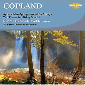 A. Copland - Copland: Appalachian Spring; Nonet for Strings; Two Pieces for String Quartet [CD] USA import
