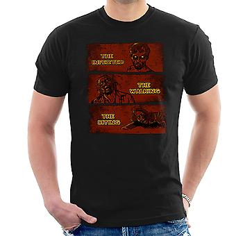 The Infected The Walking And The Biting Dead Men's T-Shirt