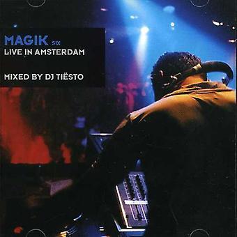 DJ Tiesto - Magik 6-Live in Amsterdam [CD] USA import