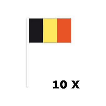 Cotillons, morceaux de drapeaux belge 10