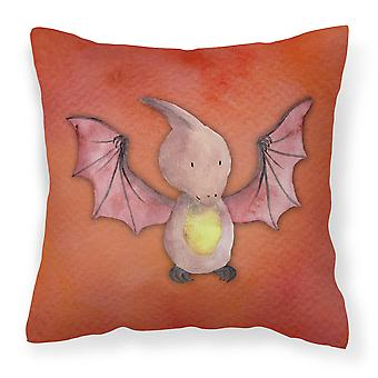 Pterodactyl Watercolor Fabric Decorative Pillow