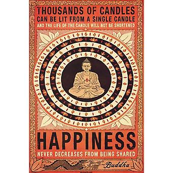 Thousands of Candles Poster Poster Print