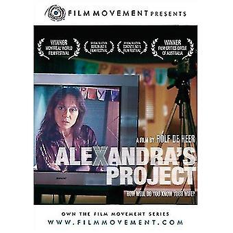 Alexandras Projekt [DVD] USA import