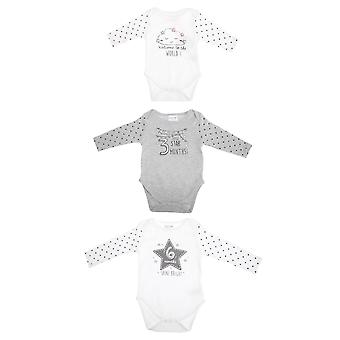 Baby Town Bodysuit Romper (Pack Of Three)