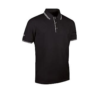 Glenmuir Mens Tipped Cool Moisture Wicking Polo Shirt