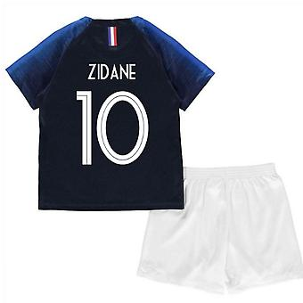 2018-2019 France Home Nike Mini Kit (Zidane 10)