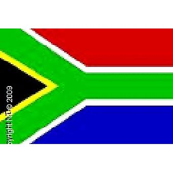 South Africa Flag Hand Held 20 X 14cm