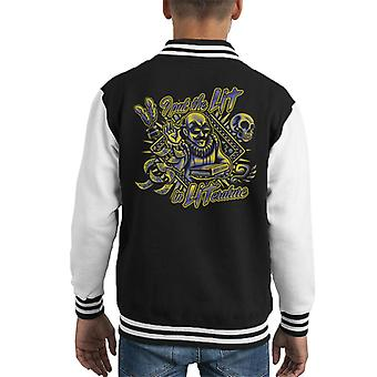 William Shakespeare Lit In Literature Kid's Varsity Jacket