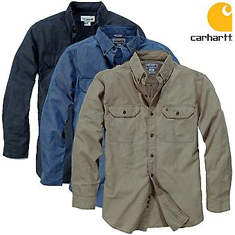 Carhartt shirt long sleeve solid Fort
