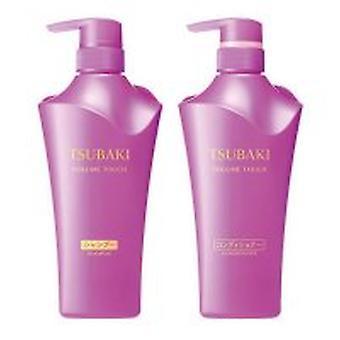 Shiseido Tsubaki Volumen Touch Shampoo & Conditioner Set 2x500ml