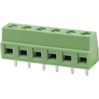 Degson DG127-5.0-03P-14-00AH-1 Schroefklem 2,08 mm² Aantal pinnen 3 Groen 1 st(en)