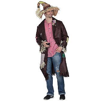 Vogelscheuche Mantel Landstreicher Vogelscheuchenkostüm Kostüm für Herren