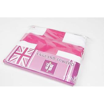 Union Jack slijtage Kids Engeland Towcho (Poncho & handdoek)