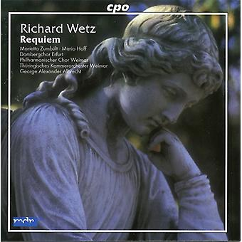 R. Wetz - Richard Wetz: Requiem [CD] USA import