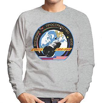 Nave Soyuz de Roscosmos TMA M 06 misión sudadera parche hombres