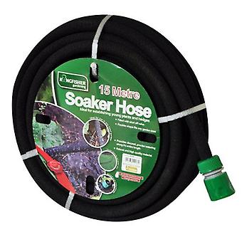 Kingfisher - Black Soaker Garden Hose 15M Robust & High Quality