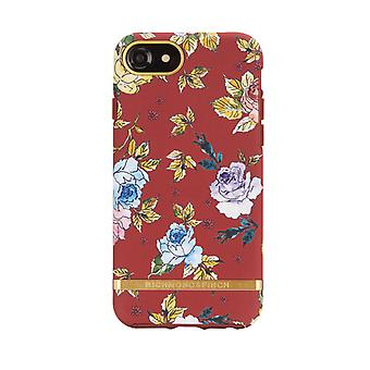 Richmond & Finch Shell voor iPhone 6/7/8/SE - Red Floral