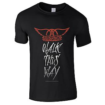 Aerosmith-Walk This Way Kids T-Shirt