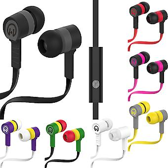 HyperGear Low Ryder 3.5mm Earphones with Noise-Cancelling Microphone